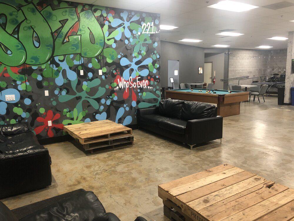 Sozo Student Center hangout